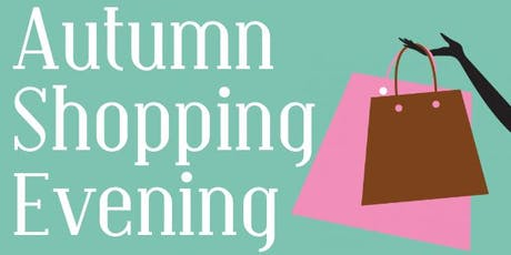 PTA  Autumn Shopping Evening tickets