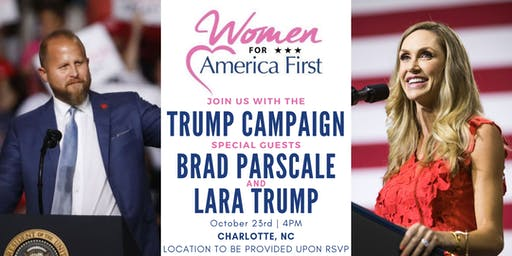Women for America First - Event with the Trump Campaign - Charlotte NC