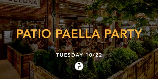 Patio Paella Party
