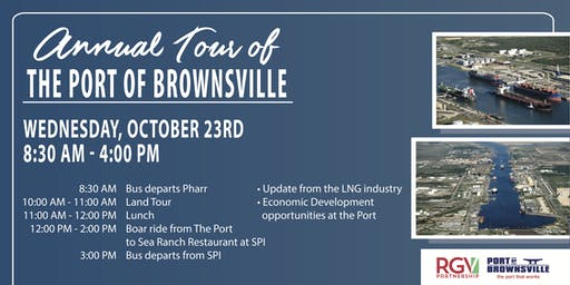 Annual Tour of the Port of Brownsville!