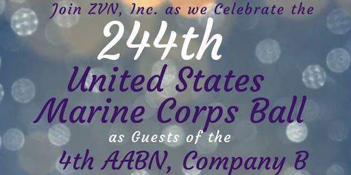 """244th Marine Corps Birthday Ball"" with ZVN, Inc."