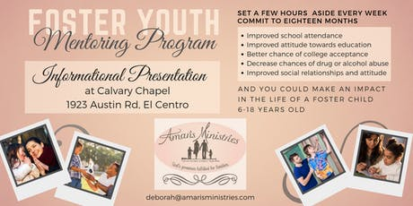 Foster Youth Mentoring Program Presentation tickets