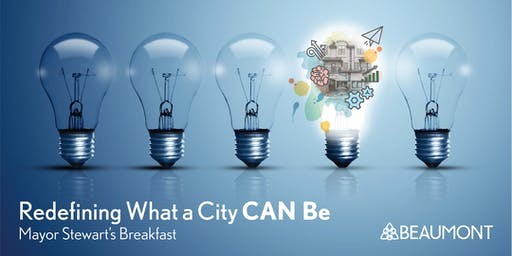 Redefining What a City Can Be - Mayor John Stewart's Breakfast.
