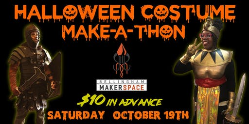 Halloween Costume Make-A-Thon