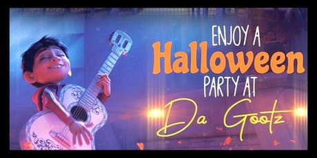 Scootie Gootz Halloween Party with Miguel from Coco tickets