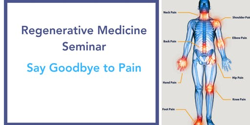 Free Regenerative Therapy Seminar(Get Relief Without Surgery)