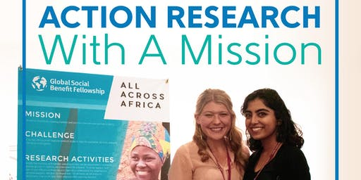 2019 Action Research with a Mission Open House