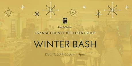 4th Annual OC User Groups (OCTUG)Holiday Party 2019 tickets
