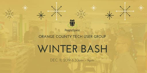 4th Annual OC User Groups (OCTUG)Holiday Party 2019