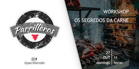 Workshop - Os segredos da carne ingressos
