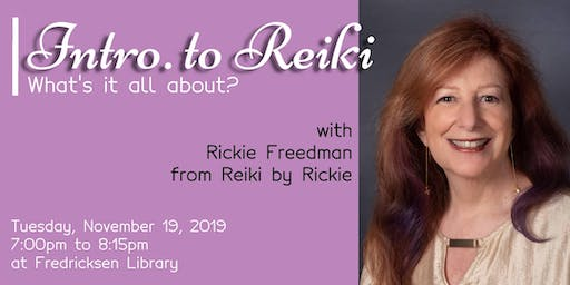 Intro. To Reiki: What's it All About?