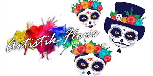 Dia de los Muertos - Paint & Sip Event