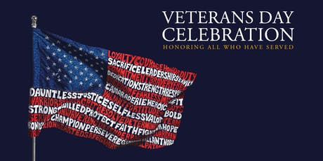 2019 Pacific Lutheran University Veterans Day Celebration tickets