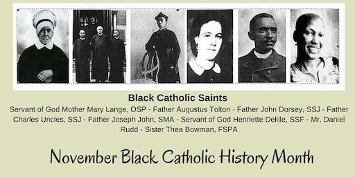 Black Catholic History Month Celebration