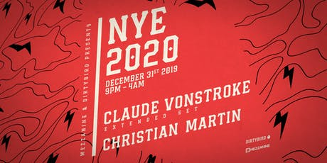 NYE 2020: CLAUDE VONSTROKE at MEZZANINE tickets
