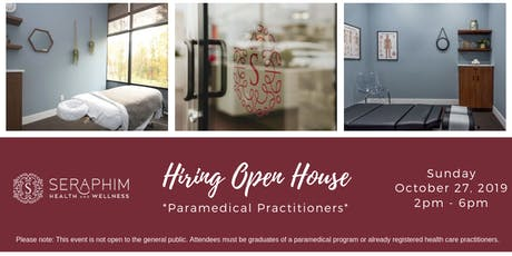 Hiring Open House - *Paramedical Practitioners* tickets