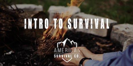 Intro to Survival - AR tickets