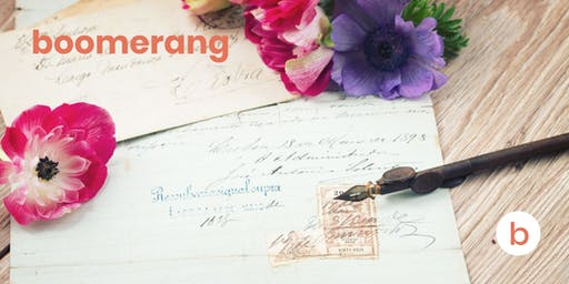 Boomerang Calligraphy 101