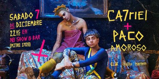 Ca7riel y Paco Amoroso en Mendoza