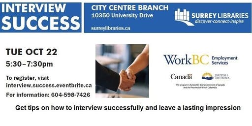 Interview Success Workshop