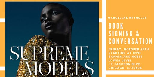 Supreme Models Book Signing and Conversation with Marcellas Reynolds