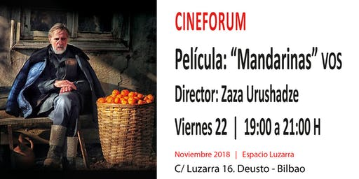 "CineForum: Película ""Mandarinas"""