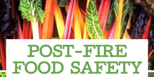 Post-Fires Food Safety Workshop