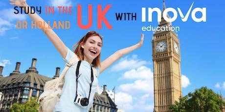 Estudia en el Reino Unido o Holanda - asesoría personal Cancún entradas