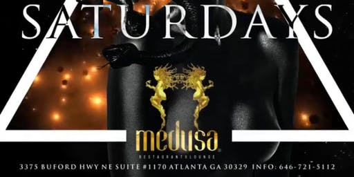 SATURDAY NIGHT LIVE  @ MEDUSA LOUNGE AND RESTAURANT + MILK & HONEY KITCHEN