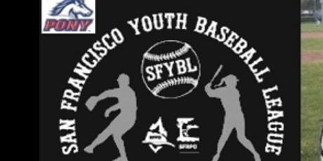 SFYBL MANDATORY Orientation Managers/Coaches Meeting for Spring 2020 Season tickets