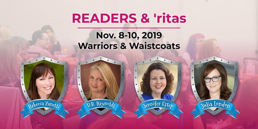 2019 Readers & 'ritas: Warriors and Waistcoats