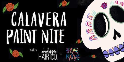 Calavera Paint Nite with Inland Empire Hair Co. + Pearmama