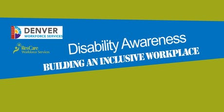 Disability Awareness: Building an Inclusive Workforce tickets