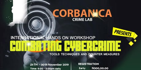 Combating Cybercrime: Tools, Techniques and Countermeasures tickets