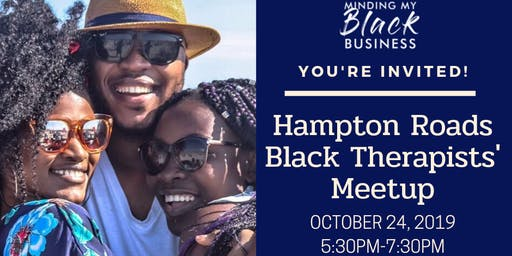 Hampton Roads Black Therapists' Meetup