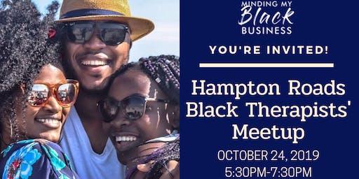 Hampton Roads Black Therapists' Meetup