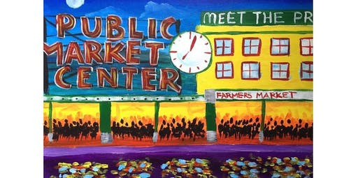 Learn to Paint Pike Place Market- ANNIVERSARY ADDITION! (2019-10-26 starts at 7:00 PM)