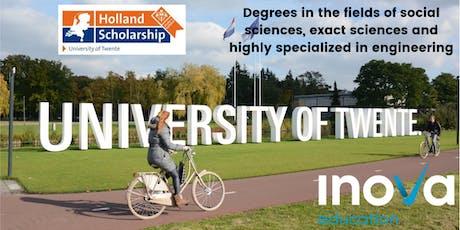 Estudia en the University of Twente (también en línea) entradas