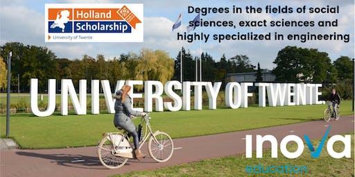 Estudia en the University of Twente (también en línea)