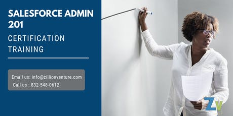 Salesforce Admin 201 Certification Training in Medicine Hat, AB tickets