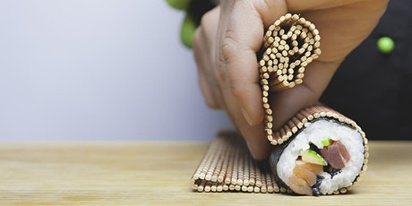Roll like a pro! Hand-rolled sushi class with Chef Poramate tickets