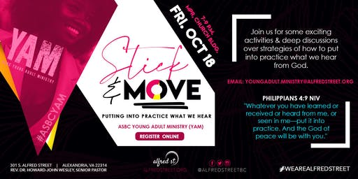 YAM-Stick and Move: Putting into Practice What We Hear