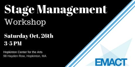 EMACT Stage Management Workshop tickets