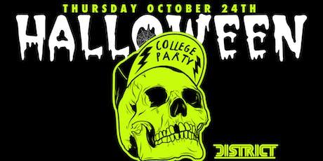 Atlanta's Biggest Halloween College Party tickets