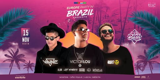 DeuBass ~ Tour Brazil  • Santos