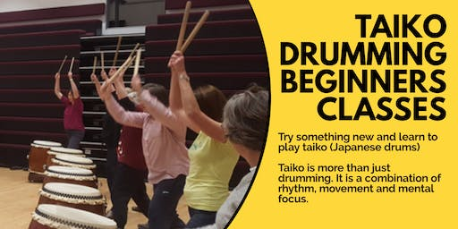 Taiko Drumming Beginners Course