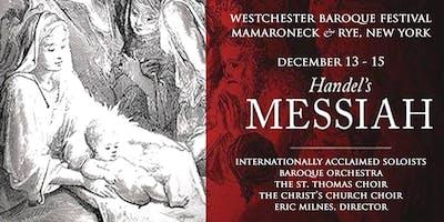 WESTCHESTER BAROQUE MESSIAH - December 13 2019