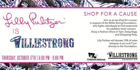 LILLY LOVES WILLIE XOXO : SHOP FOR A CAUSE tickets