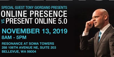 Online Presence vs. Present Online 5.0 with Tony Giordano