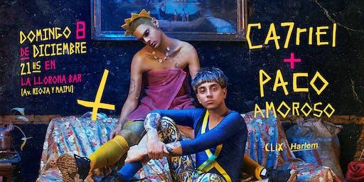Ca7riel y Paco Amoroso en San Juan